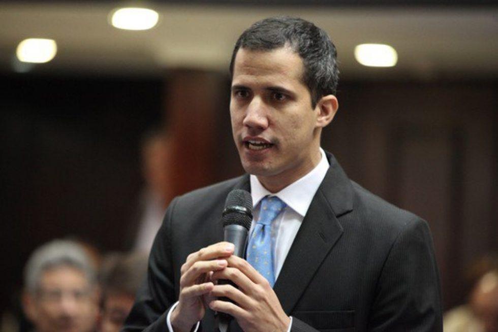 베네수엘라의 정치 지도자 인 후안 가이도 (Juan Guaido) </span></p> <p><span style=