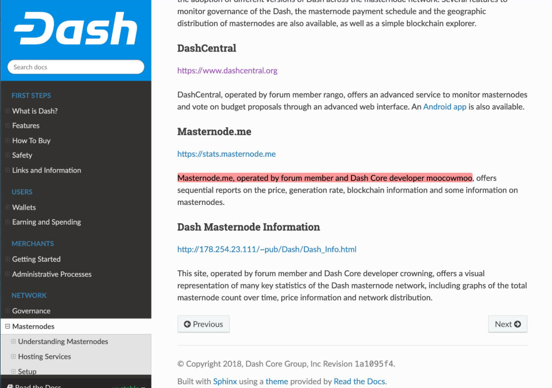 Dash Core Dev 2